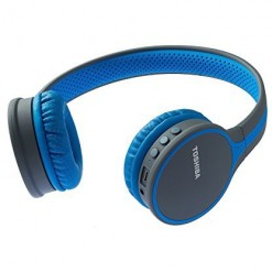 Toshiba Wireless Stereo Headphone RZE-BT180H (Blue) - Local Box