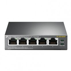 TP-Link SG1005P - 5-Port Gigabit Desktop Switch with 4-Port PoE