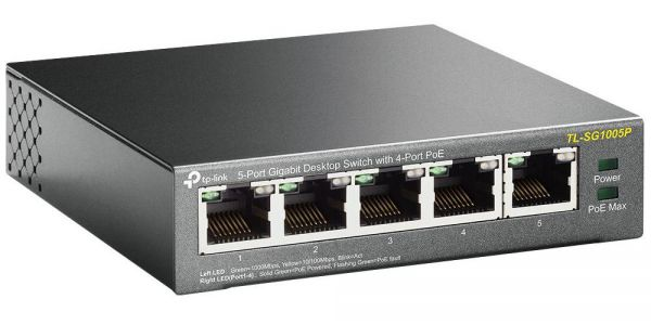 Tplink SG1005P Desktop Switch 5-Port
