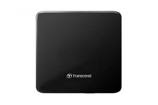 Transcend 8XDVDS K Extra Slim Portable DVD Writer