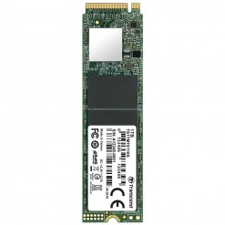 Transcend PCIe M.2 SSD 1TB Solid State Drive NVMe PCIe Gen3 x4 TS1TMTE110S