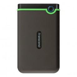 Transcend StoreJet 25M3 2TB USB 3.0 Portable Hard Drive - TS2TSJ25M3S -  Iron Gray (Slim)