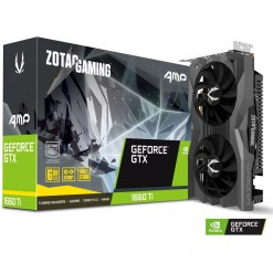 ZOTAC GAMING GeForce GTX 1660Ti AMP 6GB GDDR6 Graphics Card - ZT-T16610D-10M