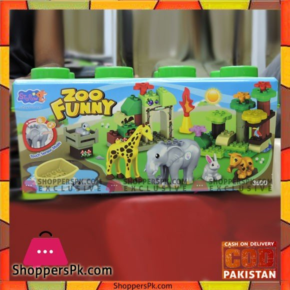 Funny ZOO Playing Set Toys For Kids