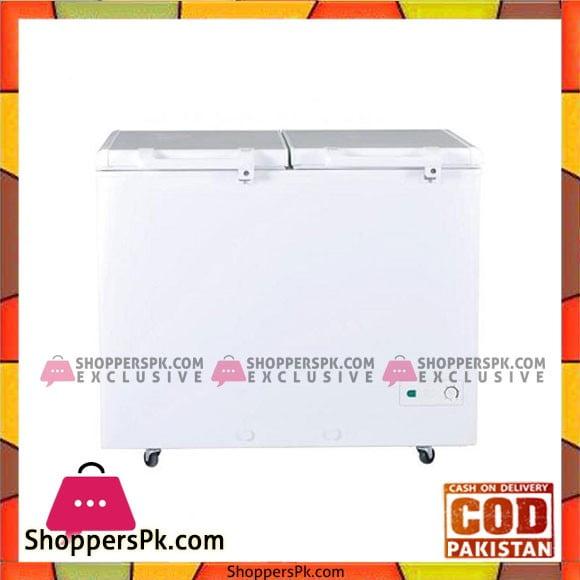 Haier Double Door Deep Freezer HDF-325 I - Karachi Only