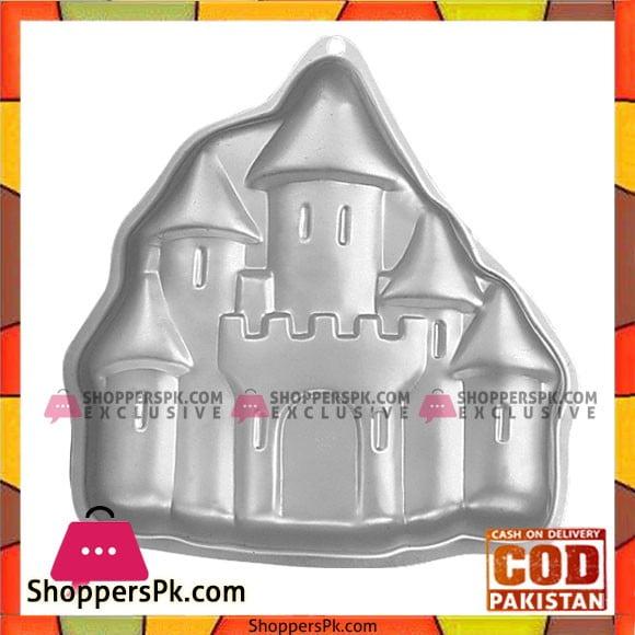 High Quality Aluminum Castle Cake Pan