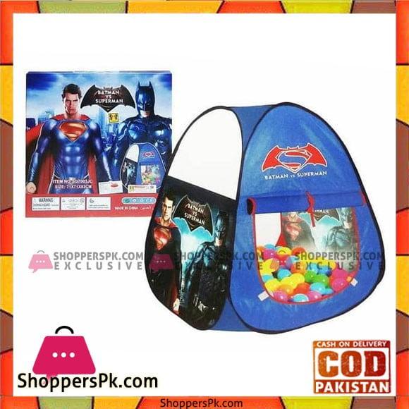 High Quality Batman vs Superman Triangle Kids Tent