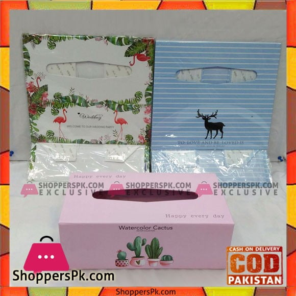 High Quality Folding Tissue Box