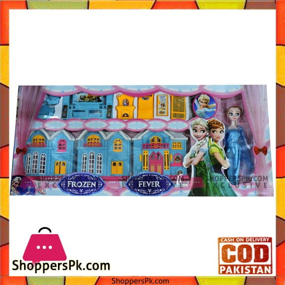 High Quality Frozen House Set Toys For Girls