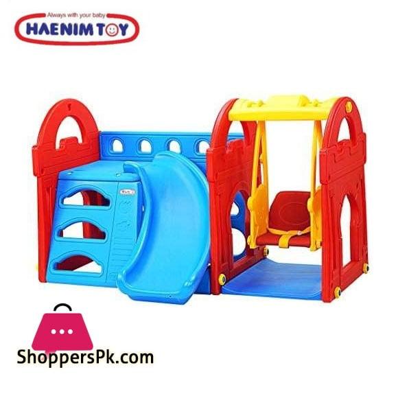 High Quality Haenim – Little Castle Slide and Swing HN709