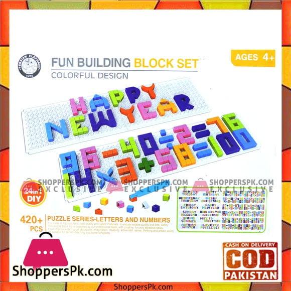 High Quality Kids Playing Fun Building Blocks Set