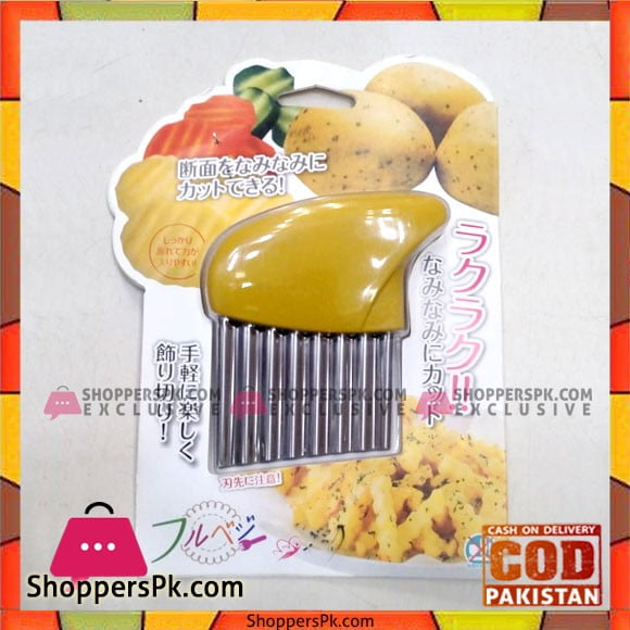 High Quality Potato Crinkle Wavy Cutter