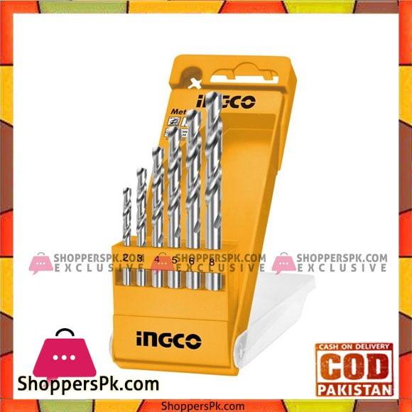 INGCO Metal Drill Bits 6pcs Set AKD1055
