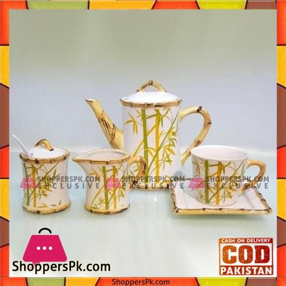 Imperial Collection Tea Set - Set of 15 - Ceramic Ware