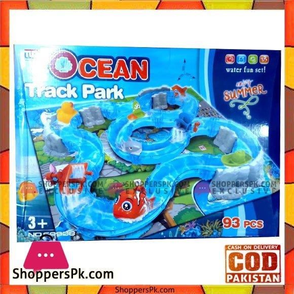 Kids Playing Ocean Track Park 93 PCS