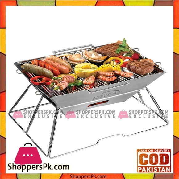 Kovea Home Magic High Quality Stainless Steel Folding BBQ