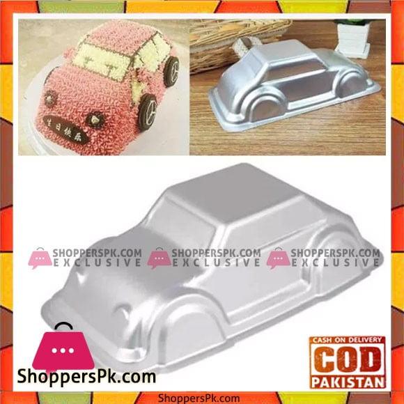 Aluminium Car Cake Pan