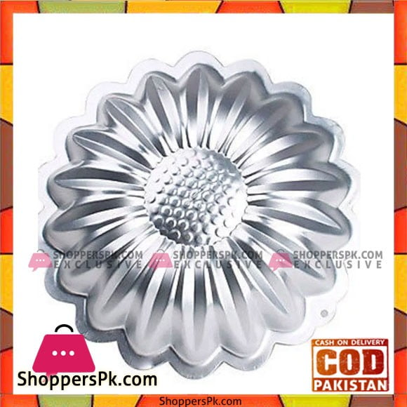 High Quality Aluminium Sunflower Cake Pan