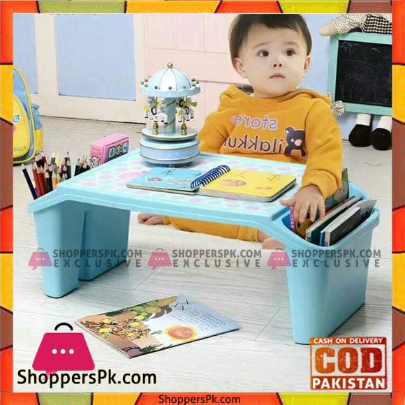 Children Plastic Feeding, Eating or Study Table Set of 2
