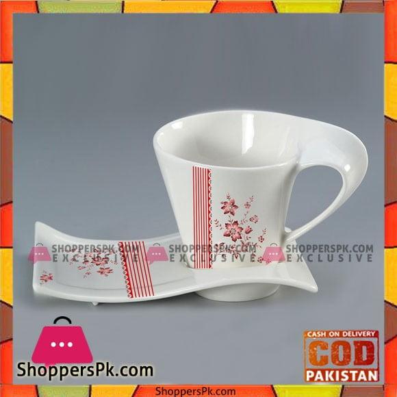 Curved Mugs 12pc Set