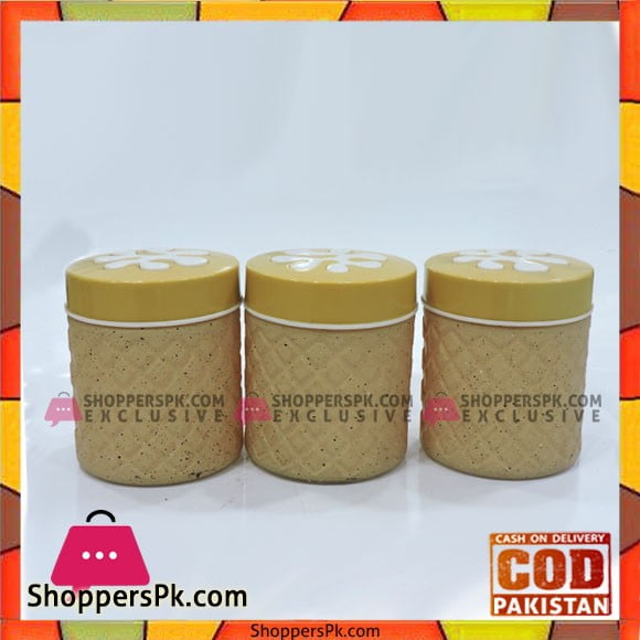 High Quality 3 Piece Spice Jars