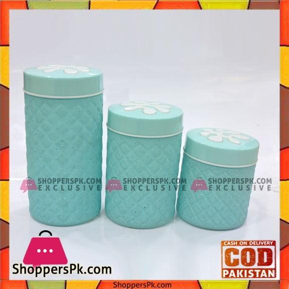 High Quality 3 Peice Jars Set