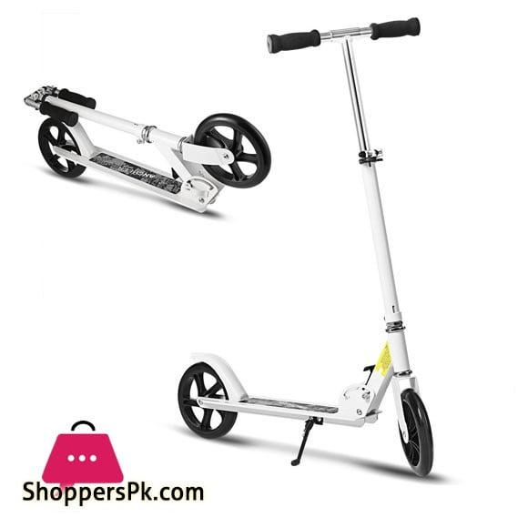 High Quality 8 Inch Big Wheel Adult Scooter Pro 2-Wheel Folding Kick Scooter Aluminium Alloy