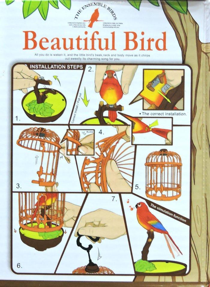 High Quality Electronic Sound Control Birds