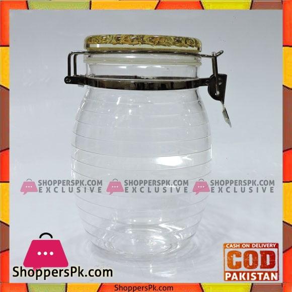 High Quality Glass Jar With Handle Lock