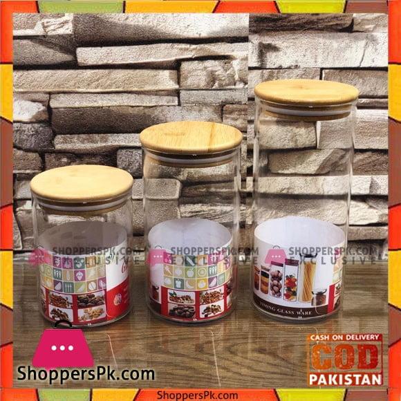 High Quality Spices Jars 3 Pcs Set