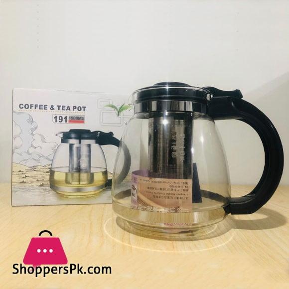 High Quality Glass Tea Kettle 1500ML
