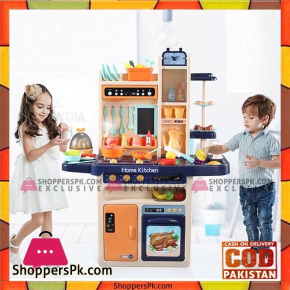 High Quality Kids Playing Home Kitchen 65 Pcs Set