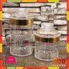High Quality Kitchen Storage Glass Jars 2 Pcs Set