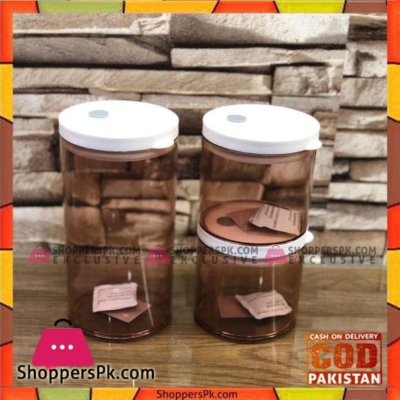High Quality Kitchen Storage Jars 3 Pcs Set
