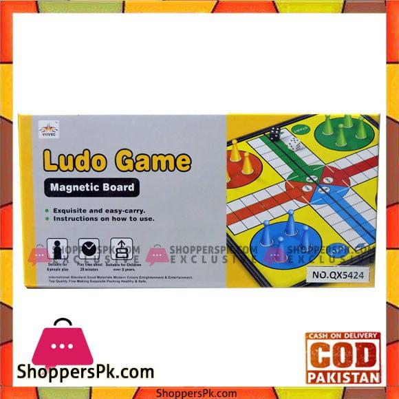 Ludo Game Magnetic Board