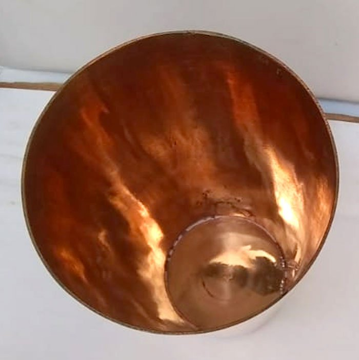 High Quality Pure Copper Glass Size 6 inch 1Pcs