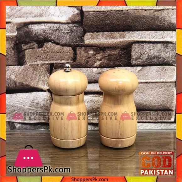 High Quality Salt Pepper Wooden Bottles