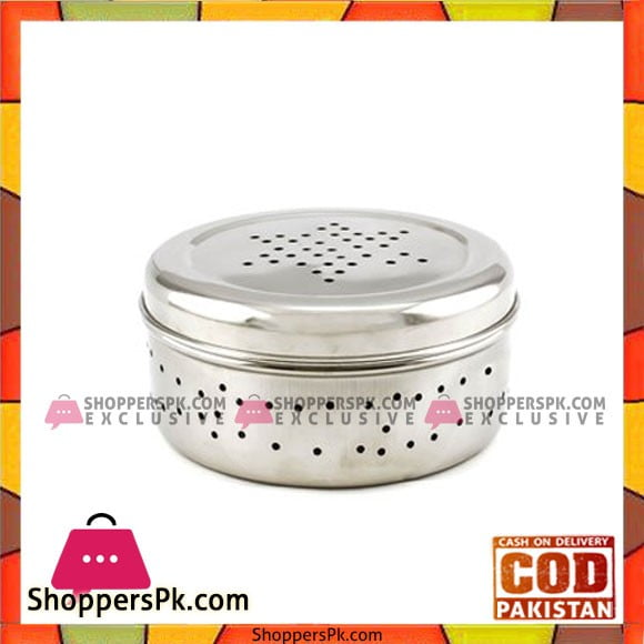 High Quality Stainless Steal Hole Dabba Small