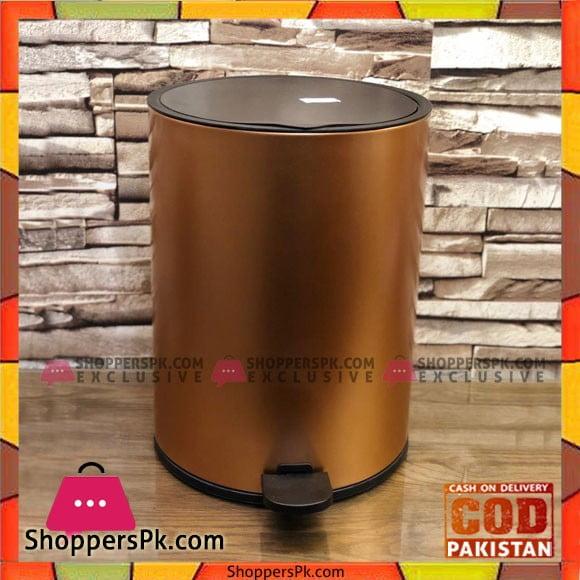High Quality Stainless Steal Hydraulic Press Dustbin Medium