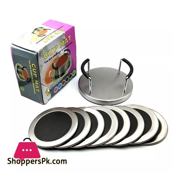 High Quality Tea Coaster with Stainless Steal Stand