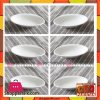 """Imperial collection Ceramic Bowls-Set of 6-White-4"""""""