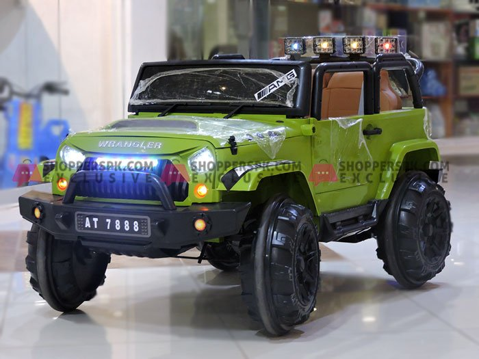 Kids Battery Operated Wrangler Jeep Xx Size 4 to 15 Years Old
