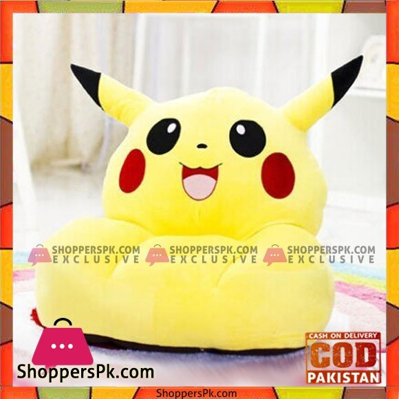 Pikachu Plush Toy Soft Tatami Sofa Floor Seat