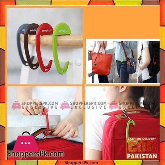 Portable Bag Hanger Holder 2 Pcs