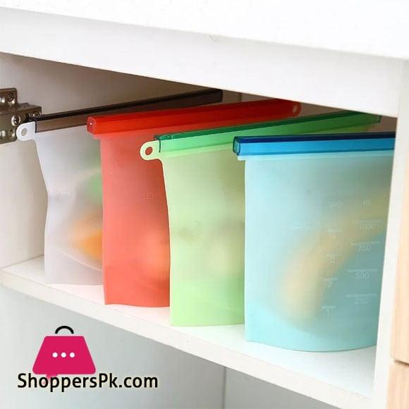 Silicone Food Storage Bag 500 ML 1 - Pcs