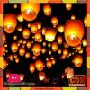 Sky Lanterns Paper Candle Lamp Fly
