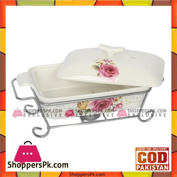 Solecasa Square Dish With Lid 10Inch