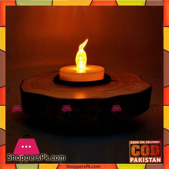 Wooden Material Candles Holder
