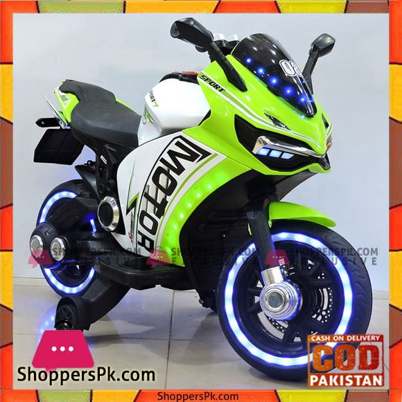 Yamaha R6 Battery Operated Kids Electric Bike Handle Race with Lighting Wheel