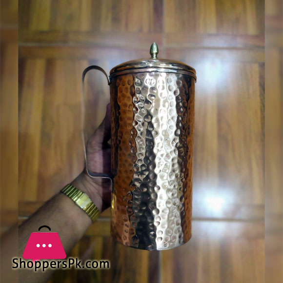 Best Quality 1 liter Original Copper Jug With Lid